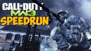 Call Of Duty: Modern Warfare 3 ► SPEEDRUN - Рекорд 2:19:18