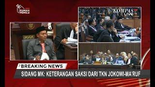 Tim Hukum 02 Cecar Saksi 01 Terkait Kehadiran Jokowi & Pembicara di Pelatihan TKN