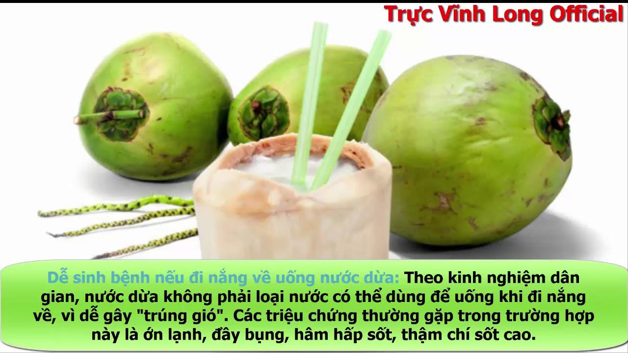 Những Ai Không Nên Uống Nước Dừa