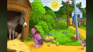 Майя в деревне - готовый проект детского слайдшоу.