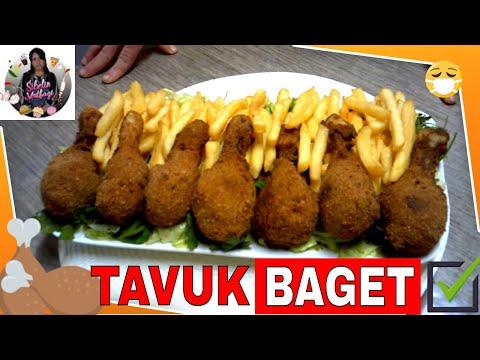 Çıtır ( KFC ) Tavuk Baget Tarifi