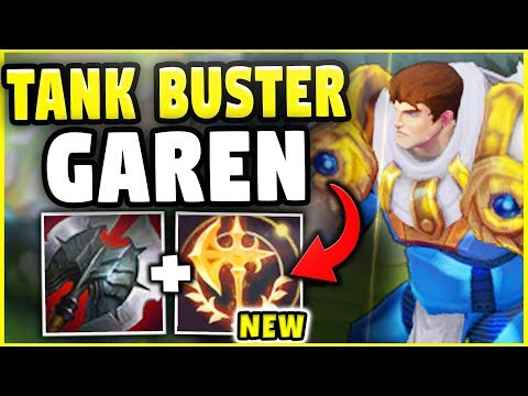 This Build Just Ended The Tank Meta Tank Buster Garen Destroys Any Tank