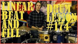 Linear Beat & Fill - Lesson #174