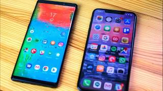 iPhone Xs Max vs Samsung Galaxy Note 9, have to choose