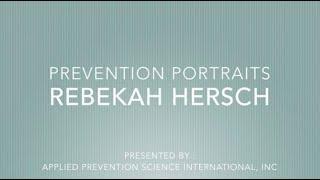 APSI PREVENTION PORTRAITS  - REBEKAH HERSCH