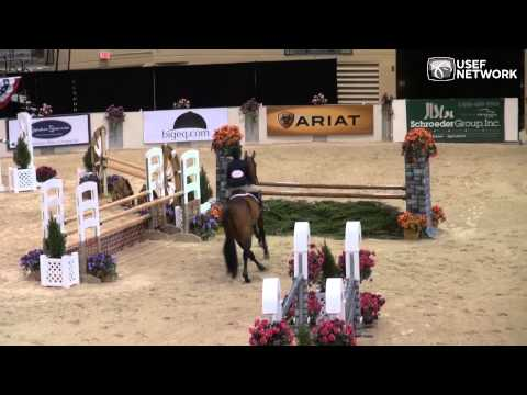 Tori Colvin Wins Jr. Equitation Challenge At 2014 Capital Challenge