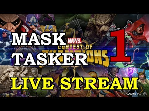 Taskmaster Arena - Round 2 - Part 1 | Marvel Contest of Champions Live Stream