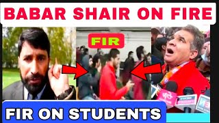 FIR ki sazish Kis nai ki Kashmiriyu par/Ravinder Rana vs Babar shair