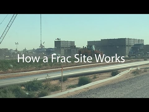 How A Frac Site Works