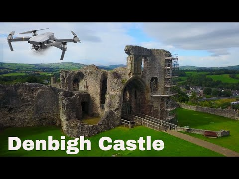 Denbigh Castle Wales As Never Seen Before !