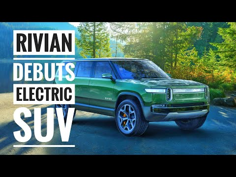 Rivian Unveils an All Electric SUV in Addition to Its Pickup Truck