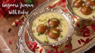 Angoori Jamun With Rabri | Sweet Recipe