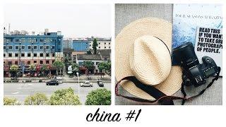 ESTOU NA CHINA! // china #1