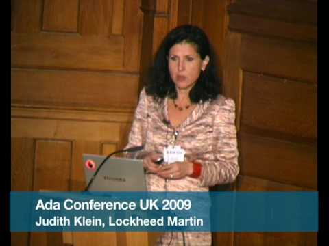 Pt.4 Ada Programming Language Use in Lockheed Martin (Judith Klein)