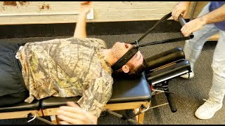 Costas massagem natural nas