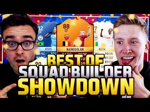 ANDROS & REVEREND'S BEST SQUAD BUILDER SHOWDOWN MOMENTS 😂