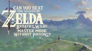 Hyrule Myths - Can You Beat Breath of the Wild's Master Mode Without Pausing?