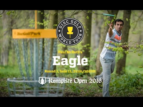Paul McBeth's Eagle @ Konopiste Open 2016, Round 2