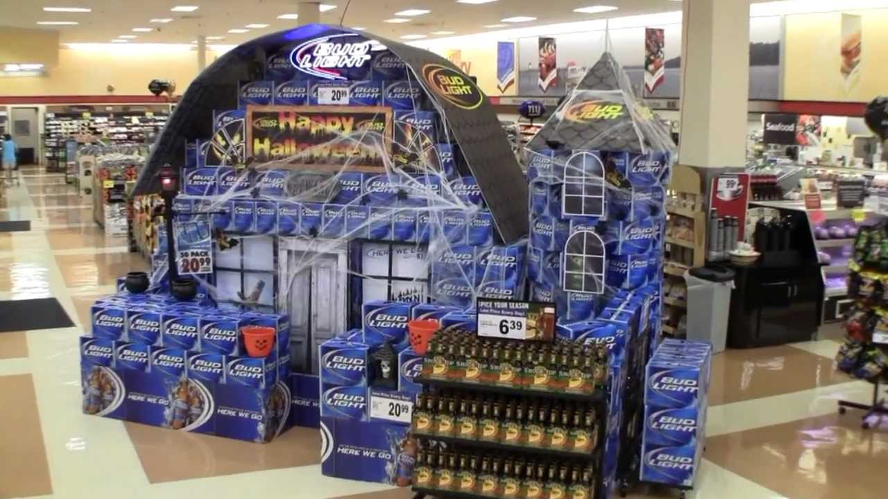 Beer Display Ideas