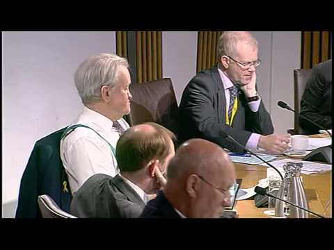 Delegated Powers and Law Reform Committee - Scottish Parliament: 15th September 2015