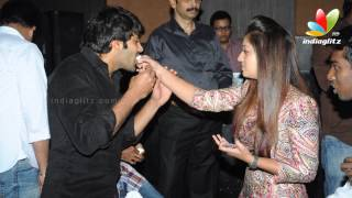 Arya, Simbu and Nayanthara celebrates Raja Rani Success Party | Atlee, Jai, AR Murugadoss
