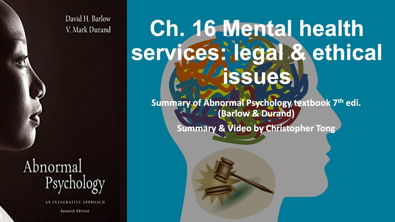 problems in abnormal psychology