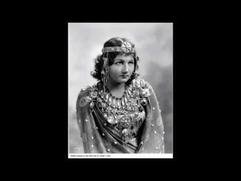 Stella Roman - O Patria Mia - Met 1941.