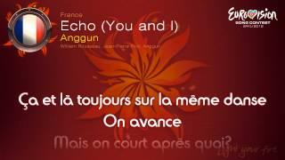 """Anggun - """"Echo (You And I)"""" (France) - [Karaoke version]"""