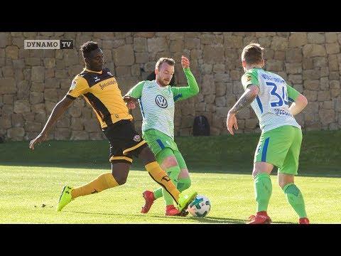 Testspiel SG Dynamo Dresden gegen VfL Wolfburg
