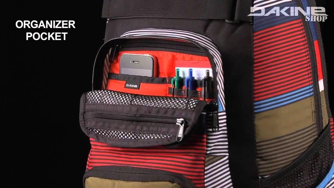c2a138e05e2db Der Dakine Duel Pack 26L- der Allrounder Rucksack für Schule   Freizeit -  YouTube