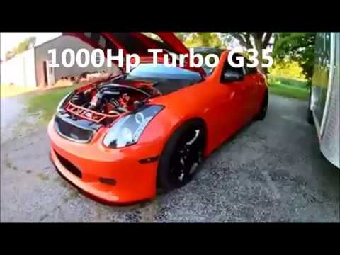 1000hp Turbo G35 Vs Twin Mustang Gt