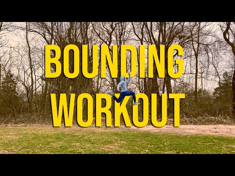 Bounding/Plyo Workout For Jumping