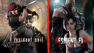 Resident Evil 4 - Dificultad profesional - juego completo + Residen Evil 3 - Speedrun Nemesis%