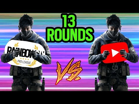 Echo Pro vs Echo Youtuber (13 Round Game) - Rainbow Six Siege