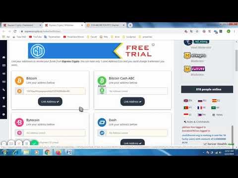 Cara Memasukan Wallet Bitcoin Ke Dalam Express Crypto