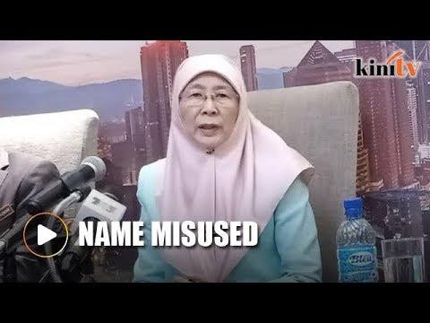 Wan Azizah's name misused in speech on high-speed broadband