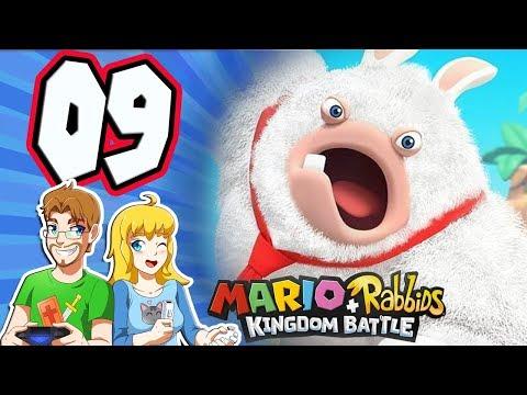 Mario + Rabbids Kingdom Battle - Walkthrough Part 9 Top Banana 1-9 (Nintendo Switch)