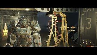 Fallout 4 прохождение без комментариев Как чинить силовую броню X-01 Фаллаут 4 186