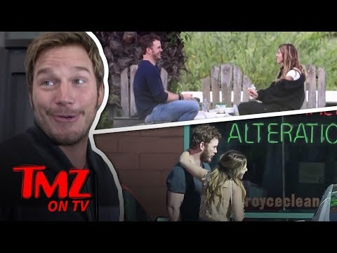 Chris Pratt Kisses A Schwarzenegger! | TMZ TV