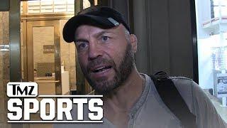 Randy Couture Tells Daniel Cormier the Key to Beating Derrick Lewis | TMZ Sports