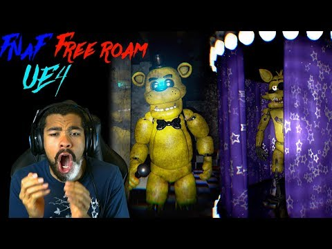 OF COURSE GOLDEN FREDDY & FOXY ARE HERE!! | Five Nights at Freddy's Unreal Engine 4 [ENDING]
