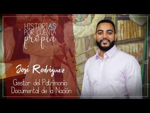 José Rodríguez sabe el valor de los documentos que cuentan la historia y del esmero que toma preservarlos