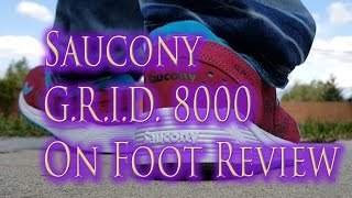 Saucony G.R.I.D. 8000 CL Premium On Foot Collection Review