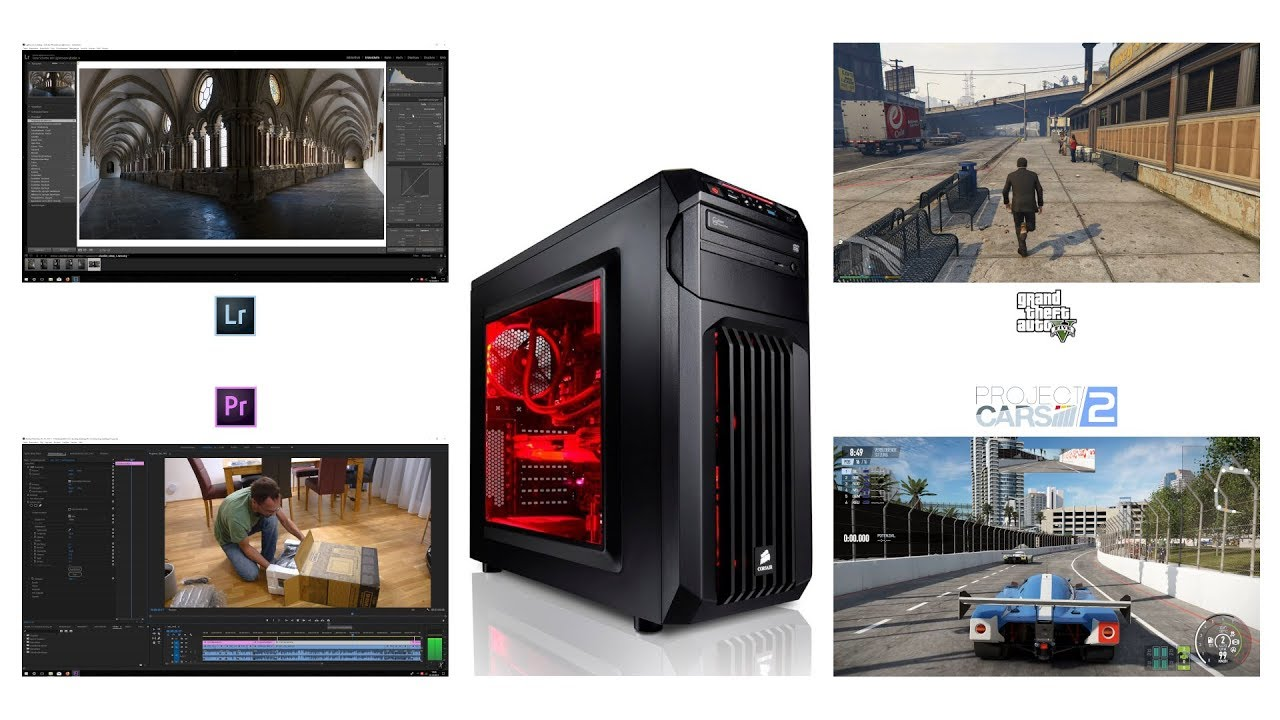 5b00c56074d Review  Megaport High End Gaming PC - i7-7700K - GeForce GTX 1070 ...