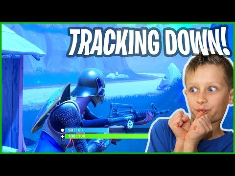 Tracking Down a Person in Fortnite Battle Royale!