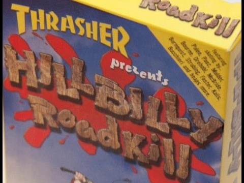 Thrasher Skateboard Magazine Hillbilly Roadkill 1998