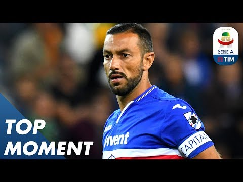 Fabio Quagliarella Scores Insane Back-heel Volley! | Sampdoria 3-0 Napoli | Top Moment | Serie A