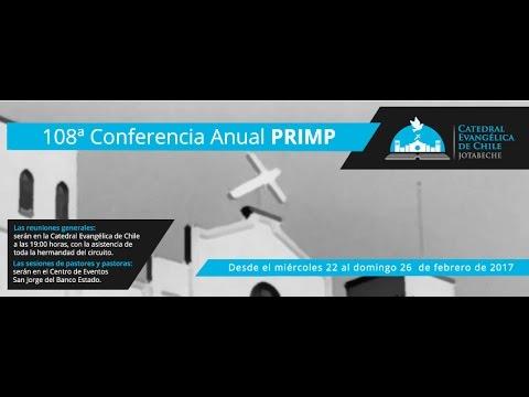 108ª Conferencia Anual PRIMP - Reunión General Miércoles 22/02/2017