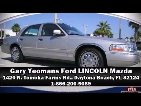 for sale gary yeomans ford 2004 mercury grand marquis gs in daytona beach fl 32124 youtube. Black Bedroom Furniture Sets. Home Design Ideas