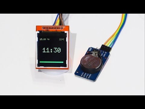 Arduino Project Real time clock DS1302 module Nokia